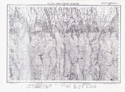 Lambert-Cholesky sheet 3557 (Muntele Drăgușului)