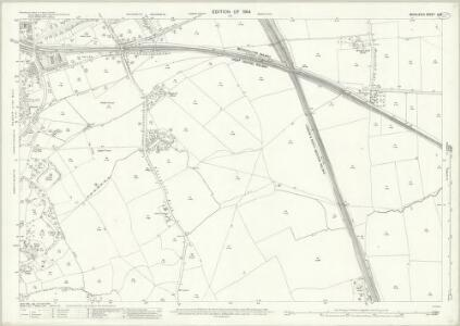 Middlesex X.12 (includes: Harrow; Wembley) - 25 Inch Map