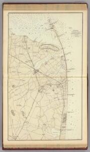 (Coast section no. 1. Sandy Hook to Shark River)