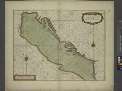 A sea chart of the Gulph of VENICE describing all the sea coasts and Islands contained therein