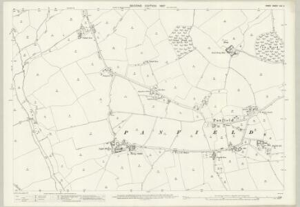 Essex (1st Ed/Rev 1862-96) XXV.5 (includes: Panfield; Shalford) - 25 Inch Map