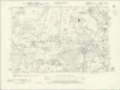 Berkshire XL.NW - OS Six-Inch Map