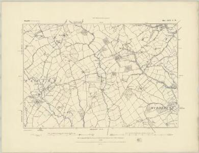 Shropshire LXVI.SE - OS Six-Inch Map