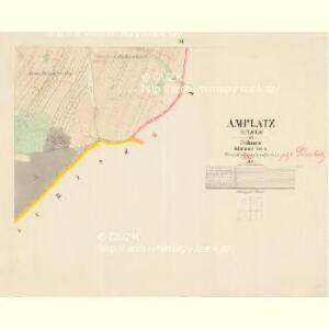 Amplatz (Oplota) - c5494-1-005 - Kaiserpflichtexemplar der Landkarten des stabilen Katasters
