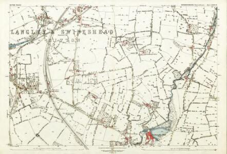 Gloucestershire LXXVI.8 (includes: Bitton; Hanham Abbots; Oldland) - 25 Inch Map