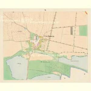 Czegkowitz - c0823-1-006 - Kaiserpflichtexemplar der Landkarten des stabilen Katasters