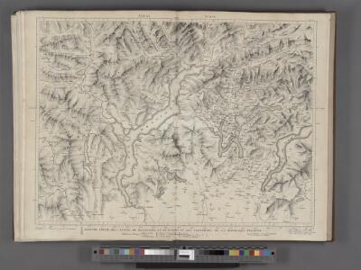 Majeure partie des Cantons de Bellinzona et de Lugano et les frontieres de la Republique Italienne.