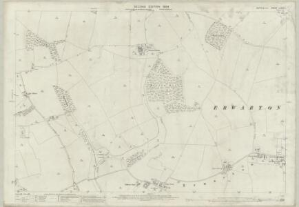 Suffolk LXXXIX.1 (includes: Erwarton; Harkstead; Shotley) - 25 Inch Map