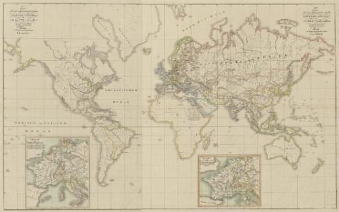 XIV. Charte für die allgemeine Geschichte vom Frieden zu Presburg bis auf den IIten Frieden zu Paris : d.i. von 1806 bis 1815 n. Christus