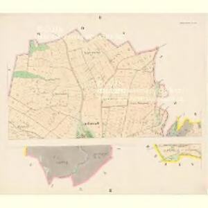 Neustadt o.d.Mettau (Nowé Město n.Meth.) - c5281-1-001 - Kaiserpflichtexemplar der Landkarten des stabilen Katasters