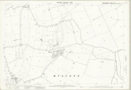 Buckinghamshire XXIX.5 (includes: Bierton with Broughton; Hulcott; Wingrave with Rowsham) - 25 Inch Map
