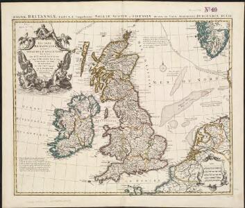 Les Isles Britanniques ou sont le royaumes d'Angleterre