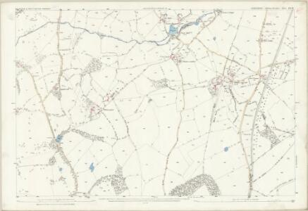 Shropshire XII.10 (includes: Oswestry Urban; Selattyn; Whittington) - 25 Inch Map