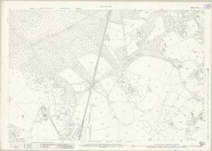 Surrey X.9 (includes: Windlesham; Winkfield) - 25 Inch Map