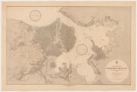 Harbor of Havana : from the most recent Spanish surveys to 1879