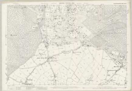 Gloucestershire XXX.16 (includes: Coleford; West Dean) - 25 Inch Map