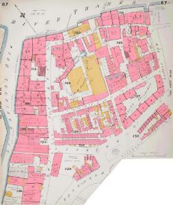 Insurance Plan of City of London Vol. IV: sheet 87-1