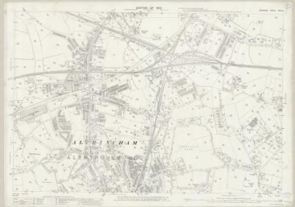 Cheshire XVIII.2 (includes: Altrincham) - 25 Inch Map