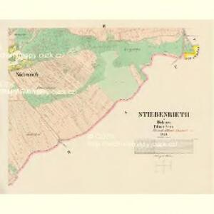 Stiebenrieth - c0768-1-004 - Kaiserpflichtexemplar der Landkarten des stabilen Katasters