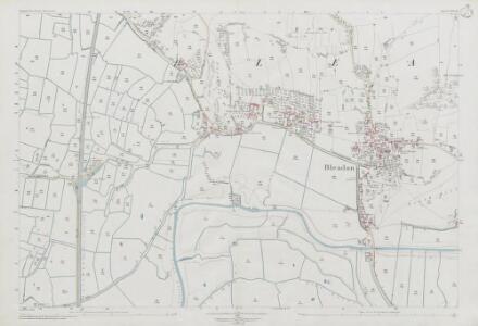 Somerset XVI.12 (includes: Bleadon; Lympsham; Weston Super Mare) - 25 Inch Map