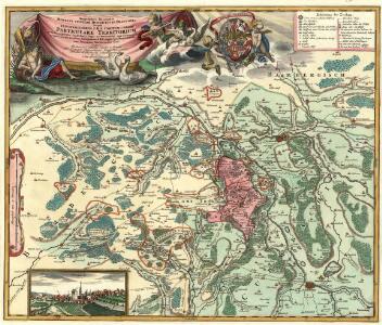 Geographica Descriptio Montani cujusdam Districtus in Franconia in quo Illustrissimorum S. R. I. Comitum à Giech Particulare Territorium