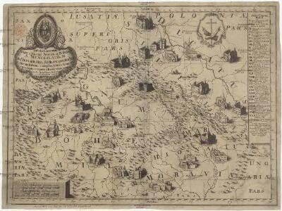 Tabula conventuum almae & magnae provinciae Bohemiae S. Wenceslai, D & M. Ord. fratrum min. s.p. Francisci strict. obs. reformatorum
