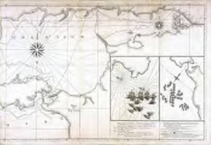 Carte de la mer noire et de la mer d'Asow, 2
