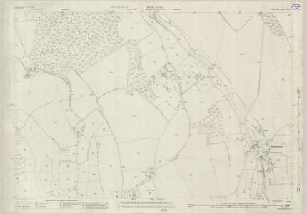 Wiltshire XXX.1 (includes: Aldbourne; Ramsbury) - 25 Inch Map