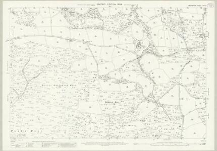 Devon XXIII.5 (includes: Bishops Nympton; Knowstone; Molland) - 25 Inch Map