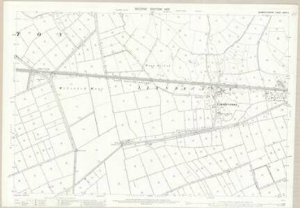 Monmouthshire XXXIV.4 (includes: Bishopston; Llandevenny; Magor; Redwick; Wilcrick) - 25 Inch Map