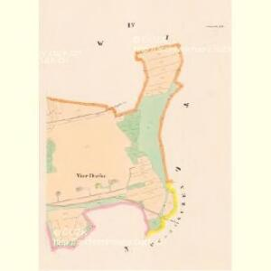 Jaronitz - c2772-1-004 - Kaiserpflichtexemplar der Landkarten des stabilen Katasters
