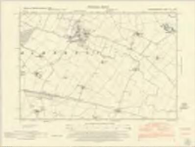 Huntingdonshire XIII.SW - OS Six-Inch Map