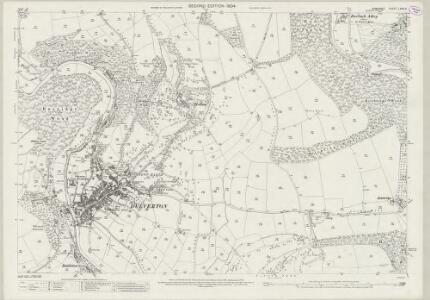 Somerset LXVII.3 (includes: Brompton Regis; Dulverton) - 25 Inch Map