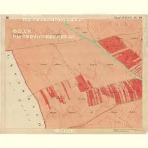 Fröllersdorf - m1088-2-003 - Kaiserpflichtexemplar der Landkarten des stabilen Katasters