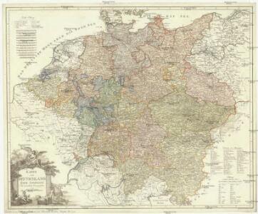Karte von Deutschland nach Sotzmann