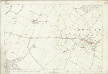 Bedfordshire IV.8 (includes: Dean and Shelton; Melchbourne and Yelden; Swineshead) - 25 Inch Map