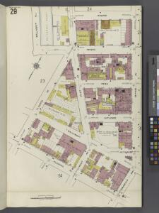 Brooklyn V. 3, Plate No. 29 [Map bounded by Hooper, Wythe Ave., Franklin Ave., Flushing Ave., Classon Ave., Wallabout PL.]