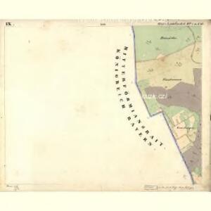 Lichtbuchet Ober - c2161-1-013 - Kaiserpflichtexemplar der Landkarten des stabilen Katasters