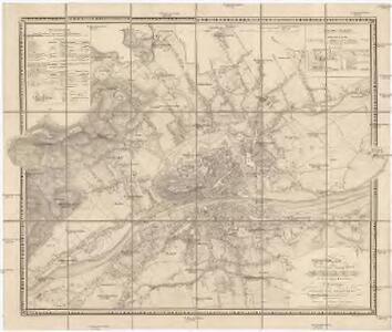 Plan der provinzial Hauptstadt Grätz mit den nächsten Umgebungen