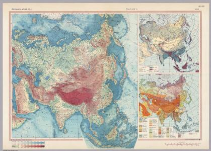 Asia.  Pergamon World Atlas.