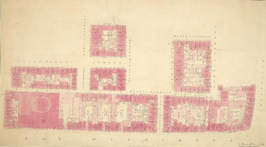 Plan of Haymarket