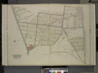 Queens, Vol. 2, Double Page Plate No. 13; Part of     Ward two Woodside; [Map bounded by Jackson Ave., Solon St., Mecke St., Kelly     Ave., Townsend St.; Including Greenpoint Ave., Thomson Ave., Astoria road        (Celtic Ave.), Middleburg Ave., Woo