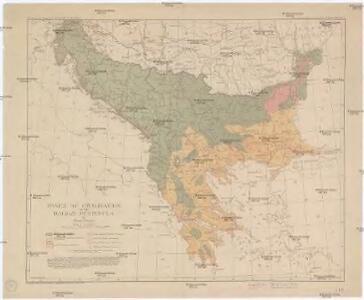 Zones of civilization of the Balkan Peninsula
