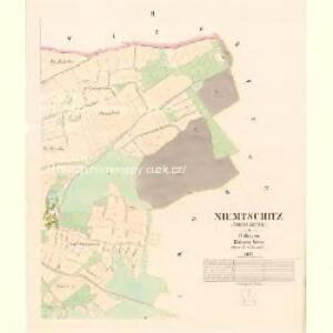 Niemtschitz (Niemczitze) - c5127-1-002 - Kaiserpflichtexemplar der Landkarten des stabilen Katasters