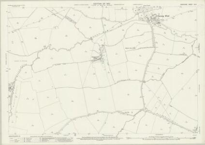 Berkshire IX.13 (includes: Charney Bassett; Denchworth; Goosey; Lyford; Stanford in The Vale; West Hanney) - 25 Inch Map