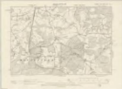 Sussex XLIII.NE - OS Six-Inch Map