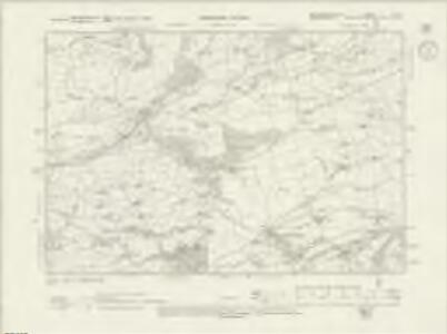 Montgomeryshire X.NW - OS Six-Inch Map