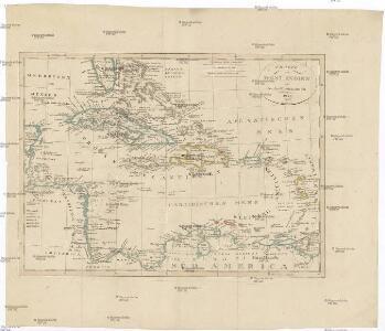 Charte von West-Indien oder den Antilischen Inseln