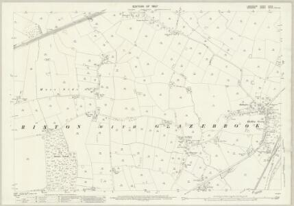 Lancashire CIX.12 (includes: Rixton With Glazebrook; Warburton) - 25 Inch Map