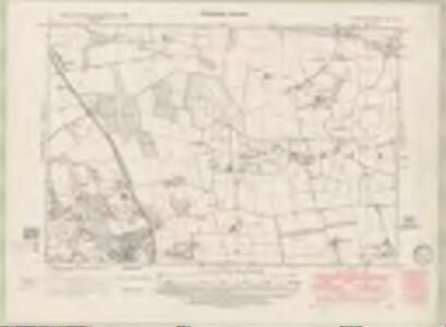 Fife and Kinross Sheet XX.SW - OS 6 Inch map
